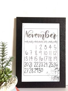November Calendar Pack, Printable and Digital – Fourteen Designs November Calendar, Iphone Wallpaper Images, Calendar Design, Design Shop, Life Organization, Card Stock, Printables, Packing, Digital