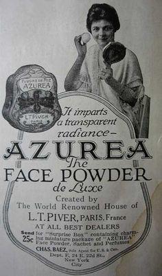 Vintage Azurea ad