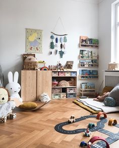 This is our colorful corner! Colorful books with colorful stories, colorful wooden toys for colorful imaginative play. Baby Bedroom, Kids Bedroom, Bedroom Decor, Ideas Habitaciones, Kids Decor, Home Decor, Boy Room, Room Inspiration, Playroom