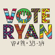 Corey Schneider | Design & Film » Vote Ryan