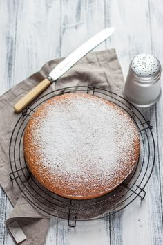Citrus yoghurt cake recipe via Great British Chefs. A cup of Straight Up will do nicely thank you #nobull