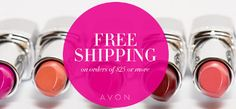Get FREE SHIPPING on your $25 order with CODE: TGIF at my Avon eStore! #AvonRep