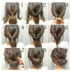 Fast Hairstyles, Easy Hairstyles For Long Hair, Straight Hairstyles, Braided Hairstyles, Wedding Hairstyles, Indian Hairstyles, Braided Updo, Messy Updo, Messy Buns