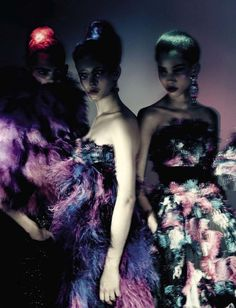 """""""Haute Couture"""" by Paolo Roversi for Vogue Italia September 2015"""