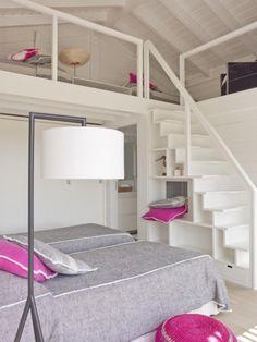 Una casa de playa en Portugal, interiorismo en casas de playa, decoración cottage, diseño