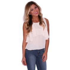 Caribbean Tan Lines Tank in Taupe | Impressions  Find your dream summer closet at www.shopimpressions.com!