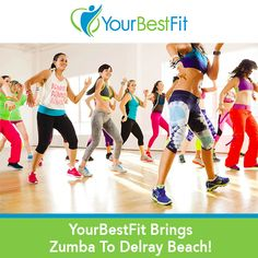 "YourBestFit, local health and wellness company celebrating 20 years, announces the addition of Zumba to their schedule of group fitness classes. ""Zumba with Your Best Fit"" launches Tuesday, October 25, 2016 at the Delray Beach Community Center. On Tuesdays and Thursdays at 7am experience the fun, energetic Zumba dance fitness workout, combining cardio, muscle conditioning, balance and flexibility to Latin and World Rhythms."