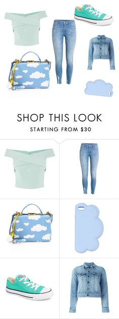 """""""Outfit"""" by latishapen on Polyvore featuring mode, Mark Cross, STELLA McCARTNEY, Converse en Yves Saint Laurent"""