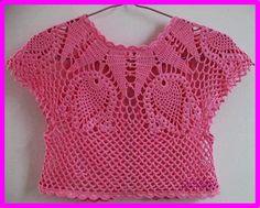 DE MIS MANOS TEJIDOS Y MAS...: Lindo bolero color rosa