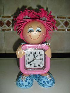 FOFUCHAS CRIS&MAR: Fofu-relojes muy chulos.