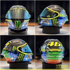 Rossi's 2015 Mugello Helmet