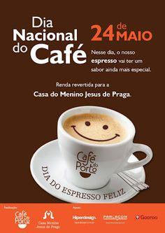 S a b r i n a O r t á c i o: EVENTO: Café do Porto promove 10° Dia do Espresso Feliz Café Chocolate, Espresso, Portugal, Tableware, Instagram, Words, Coffee Quotes, Coffee Lovers, Healthy Foods