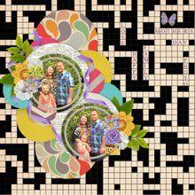 May Mixology: Kaleidoscope Layout Templates