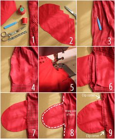 Sewing - how to add pockets (work hoodie)