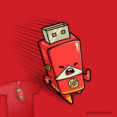 The Flash Drive.