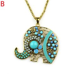 Aliexpress.com : Buy beadwork handmade elephant animal charm pendant necklace,5 colors,NL 2100  from Reliable handmade necklace suppliers on Well Done Fashion Jewelry Co.,Ltd. $4.99