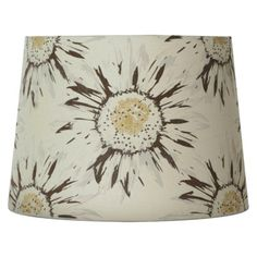 My new lampshade...I love it!  Threshold™ Sunflower Scene Printed Lamp Shade Medium