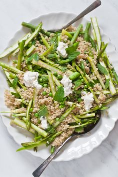 Life Love Food: Spring Quinoa Salad with Labneh