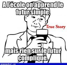 Cool Meme in http://mememaker.us: Futur simple