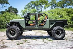 Jeep JK Wrangler Truck Conversion