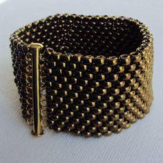 "Bracelet ""Bronzie"" Hand-Woven"