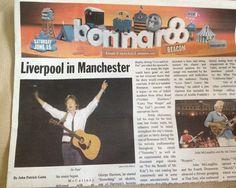 Paul McCartney played his Martin during his performance at Bonnaroo 2013!
