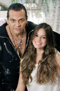 Flávio Priscott assina visual de Bruna Marquezine em Salve Jorge, próxima novela da Globo (Foto: Xan/divulgação)