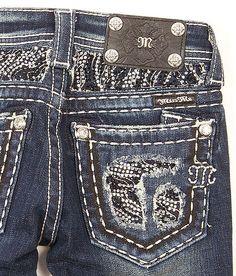 Girls-Miss Me Boot Jean - Girl's Jeans | Buckle on Wanelo