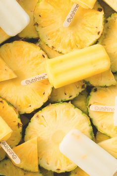 Outshine Coconut Waters with Pineapple are a refreshing snack for island dreaming. Made with young coconut water and real pineapple, they taste like vacation on a Hawaiian beach!