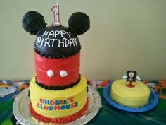 Create a Magical Mickey Mouse Cake for Your Tot's Birthday - Yahoo! Voices - voices.yahoo.com