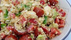 Cuscús con tomates secos y garbanzos | Ensalada de cuscús Quinoa Stir Fry, Quinoa Fried Rice, What Is Quinoa, How To Cook Quinoa, Quinoa Side Dish, Quinoa Benefits, Mexican Quinoa, Quinoa Breakfast, Quinoa Salad