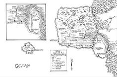 Graceling by Kristin Cashore http://www.pitchdark.com/blog/high-fantasy-map-quiz/