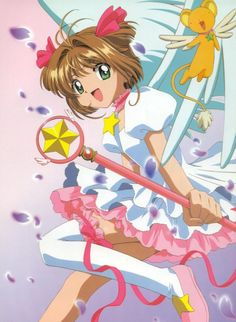 Sakura et Kero-chan Cardcaptor Sakura, Syaoran, Anime Manga, Anime Art, Arte Sailor Moon, Childhood Characters, Sweet Child O' Mine, Card Captor, Good Old Times