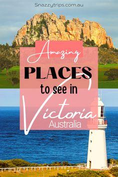 Best Places To Visit In Victoria 2 Perth, Brisbane, Sydney, Outback Australia, Visit Australia, Melbourne Australia, Cool Places To Visit, Places To Travel, Travel Destinations