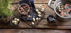 Cebollas al Oporto con vinagre balsámico