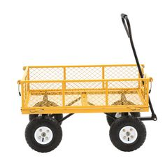 Farm & Ranch 900 lb. Steel Utility Cart FR1245-2 at The Home Depot - Mobile