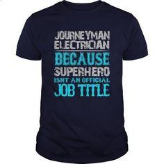 Journeyman Electrician Shirt #Tshirt #clothing. GET YOURS => https://www.sunfrog.com/Jobs/Journeyman-Electrician-Shirt-Navy-Blue-Guys.html?id=60505