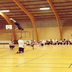 Gymnastikugen - vi er godt igang...