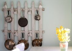 7 Creative Ways to Store Pots and Pans via @PureWow