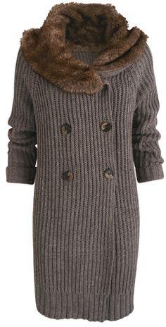 Casaco de tricô com barra inglesa - Receita e gráfico | Tricô + Crochê
