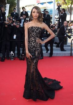 JOURDAN DUNN IN RALPH & RUSSO Attending the 68th annual Cannes Film Festival, May 22.
