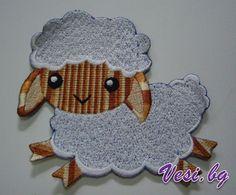 lamb machine embroidery