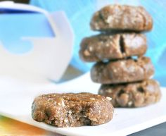 raw peanut butter cookies   A...M...A...Z...I...N...G...!!!! These are so delicious...It's a must try!