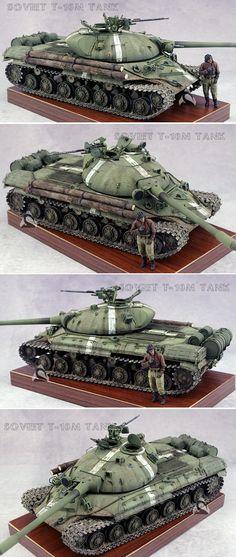 Soviet T-10m heavy tank [35 proportion]
