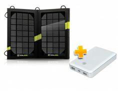 Goal Zero Nomad 7 + Xtorm AL-360   Solar Power Supply