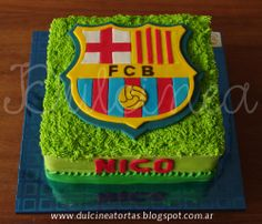 Torta FC Barcelona