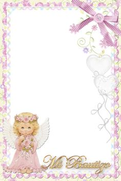 Bautismo Brownie brownie z malinami Christening Invitations Girl, Front Page Design, Baby Baptism, Note Paper, Writing Paper, Flower Pictures, Pictures Images, Free Printables, Diy And Crafts