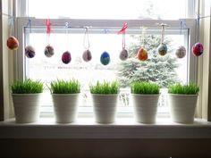 + 30 Ideen In Bildern Für Wunderschöne Fensterdeko Ostern
