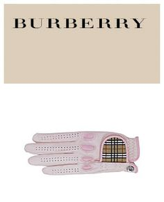Burberry Golf Glove @US Hole In One