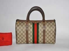 Gucci Vintage Satchel in Brown